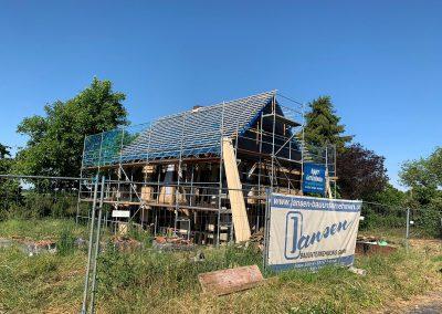 Fischerhof Dach eindecken Juni 2019