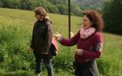 Vorschulkinder entdecken den Wald
