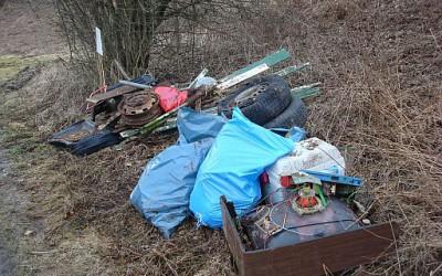 Müllaktion im Naafbachtal